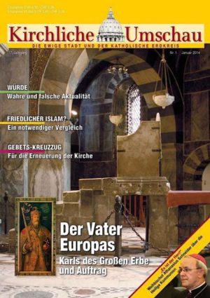 Cover der Kirchlichen Umschau Januar 2014