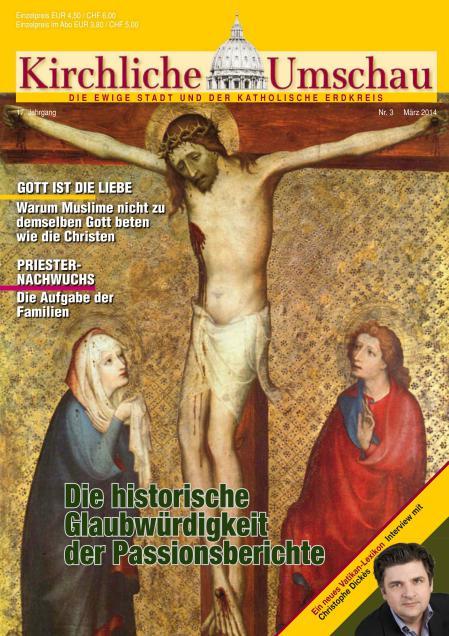 Cover der Kirchlichen Umschau März 2014