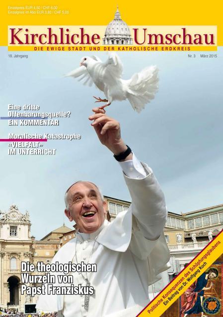 Cover der Kirchlichen Umschau März 2015