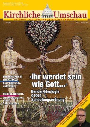 Cover der Kirchlichen Umschau April 2014