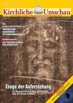 Cover der Kirchlichen Umschau April 2015