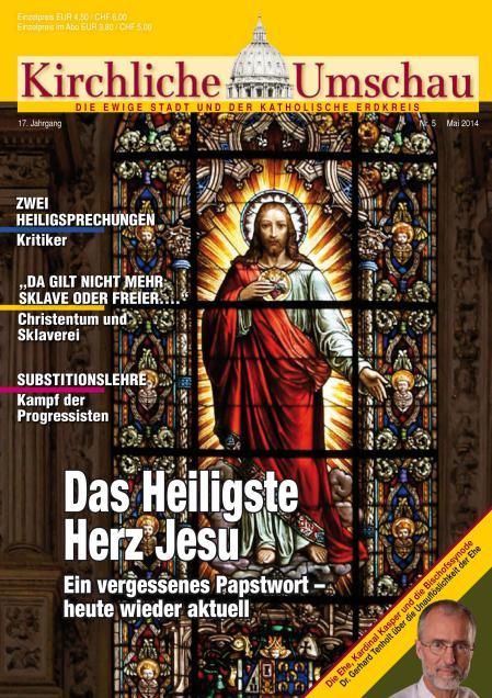 Cover der Kirchlichen Umschau Mai 2014