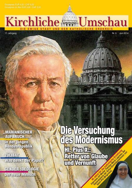 Cover der Kirchlichen Umschau Juni 2014