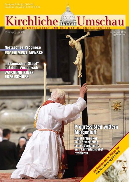 Cover der Kirchlichen Umschau Juli / August 2015