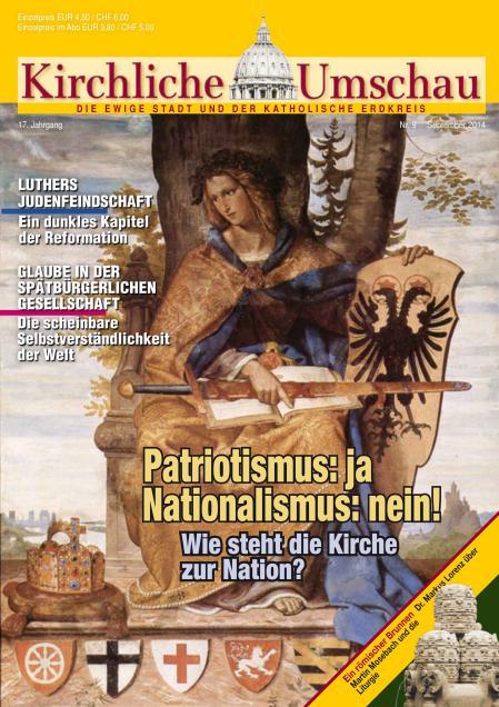 Cover der Kirchlichen Umschau September 2014