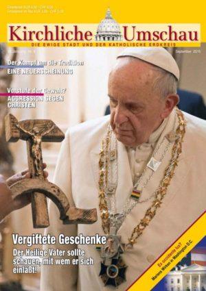Cover der Kirchlichen Umschau September 2015