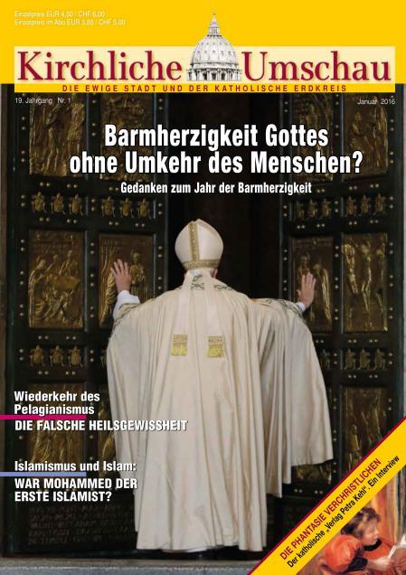 Cover der Kirchlichen Umschau Januar 2016