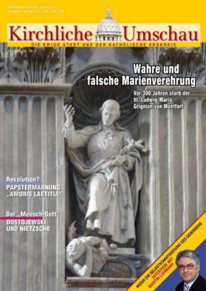 Cover der Kirchlichen Umschau April 2016