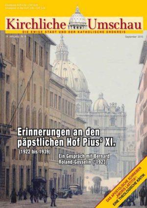Cover der Kirchlichen Umschau September 2016